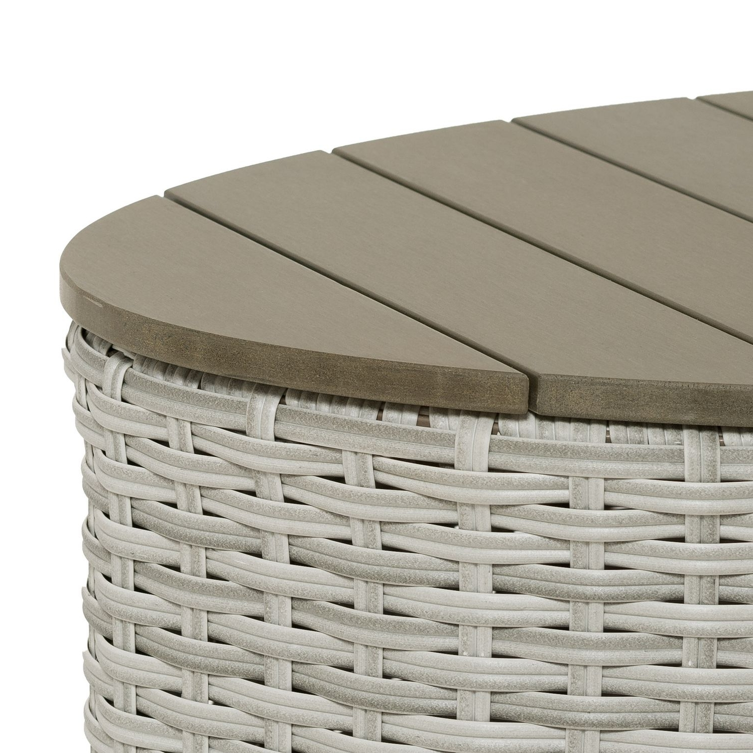 Well Liked Brisbane Oval Coffee Tables For Brisbane Weather Resistant Resin Wicker Oval Patio Coffee Table (View 19 of 20)