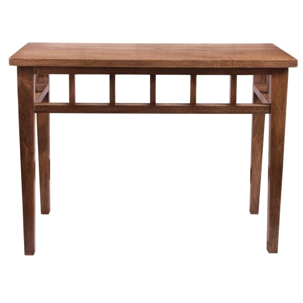 """Well Liked Felicity Cocktail Tables For Shop Kenroy Home 65084twal Felicity 38"""" Long Wood Console Table (View 14 of 20)"""