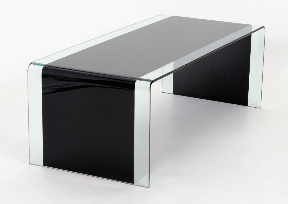 Well Liked Kai Small Coffee Tables Regarding Angola Coffee Table Black Or Clear Glass – Brixton Beds (View 20 of 20)
