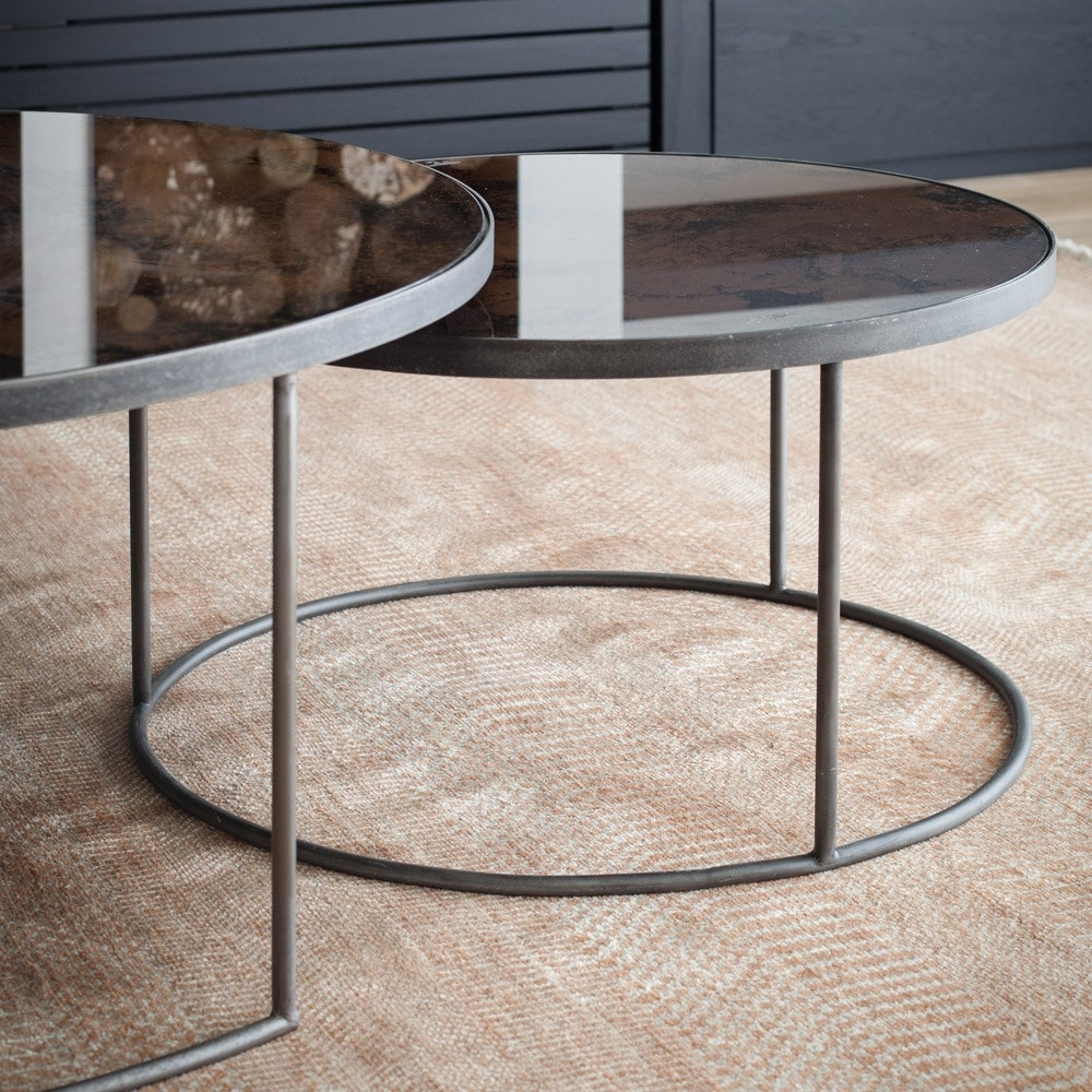 Well Liked Set Of Nesting Coffee Tables Within Notre Monde Nesting Coffee Table Set Of (View 1 of 20)