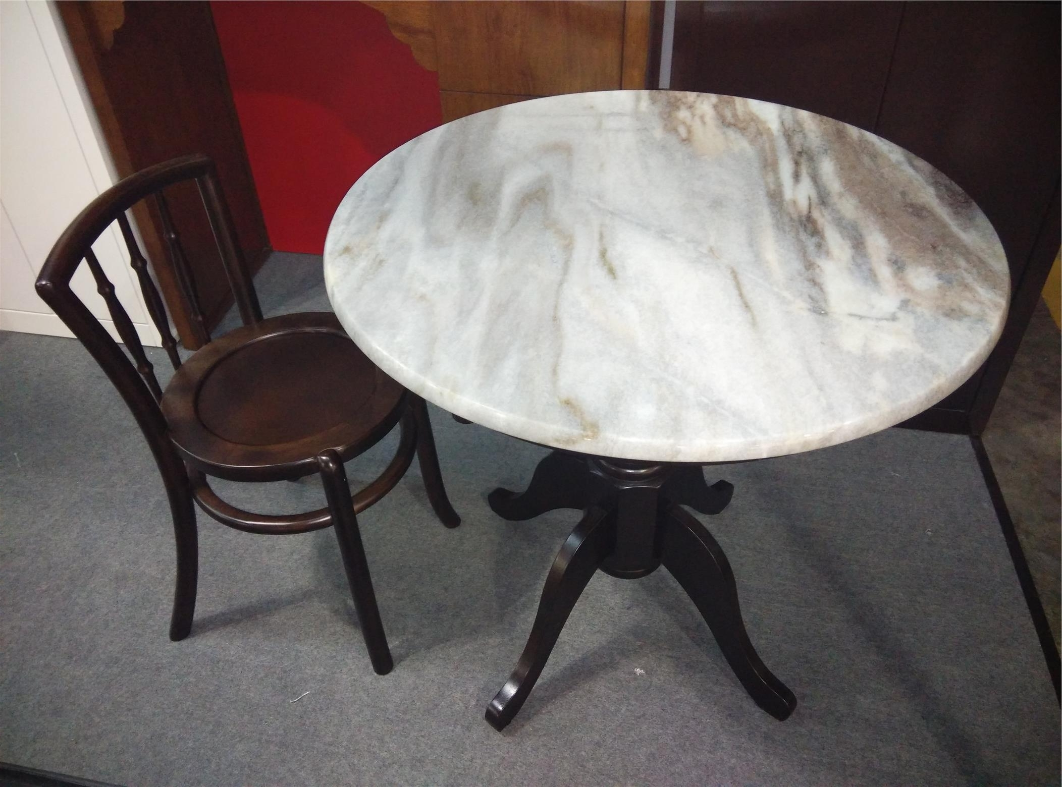 Well Liked Suspend Ii Marble And Wood Coffee Tables Throughout Kopitiam Classic Antique Marble Coff (End 7/10/2021 2:46 Pm) (View 18 of 20)