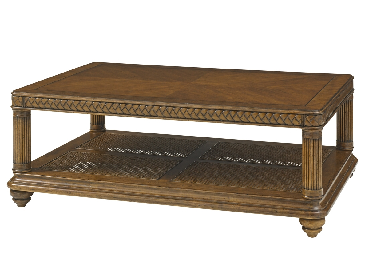 Widely Used Element Ivory Rectangular Coffee Tables Intended For Bali Hai Vineyard Point Rectangular Cocktail Table (View 20 of 20)