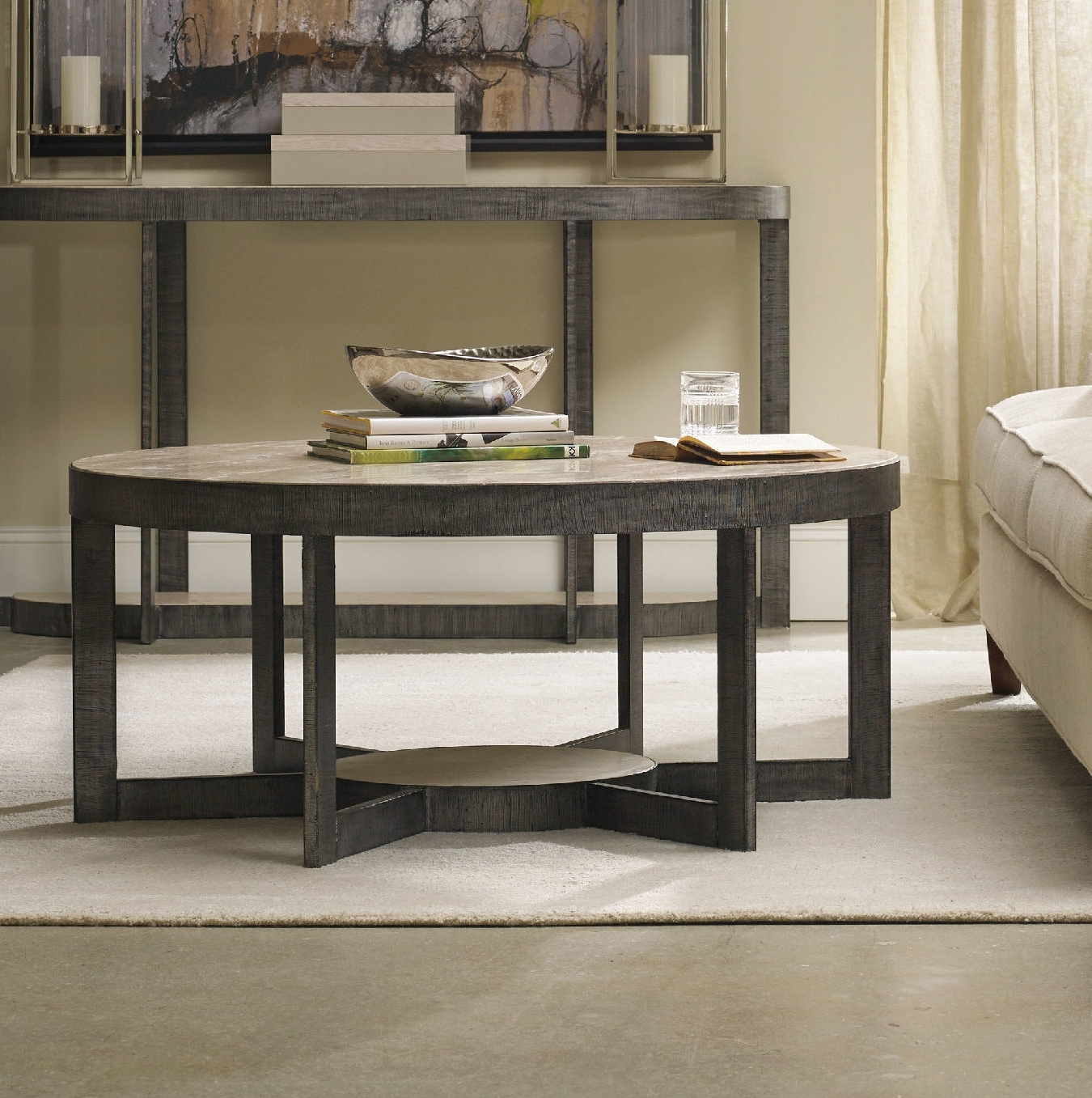 Widely Used Mill Coffee Tables With Hooker Furniture Mill Valley Coffee Table (View 20 of 20)