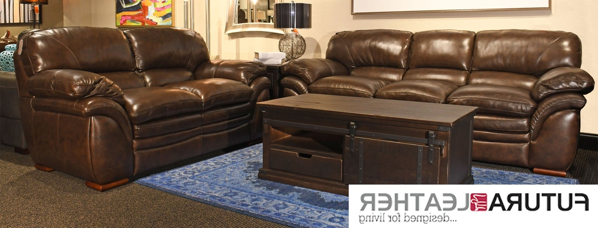 Widely Used Mill Large Leather Coffee Tables Intended For Futura Leather Furniture (View 19 of 20)