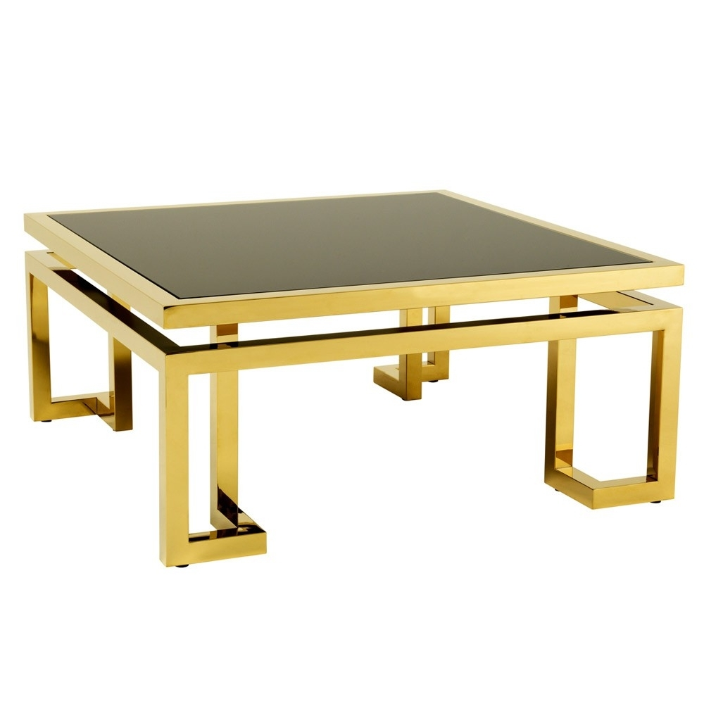 Widely Used Palmer Storage Cocktail Tables Throughout Eichholtz Palmer Coffee Table – Gold (View 13 of 20)