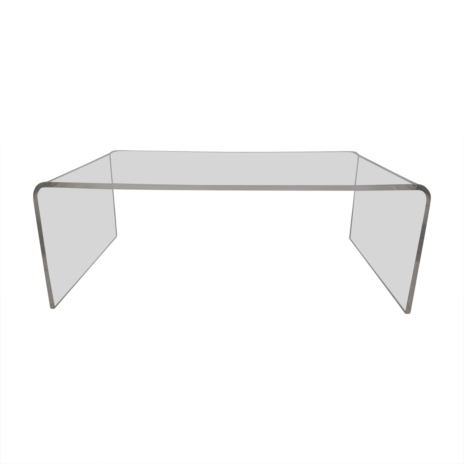 [%Widely Used Peekaboo Acrylic Coffee Tables With 61% Off – Cb2 Cb2 Peekaboo Acrylic Ghost Tall Coffee Table / Tables|61% Off – Cb2 Cb2 Peekaboo Acrylic Ghost Tall Coffee Table / Tables Pertaining To Trendy Peekaboo Acrylic Coffee Tables%] (View 4 of 20)