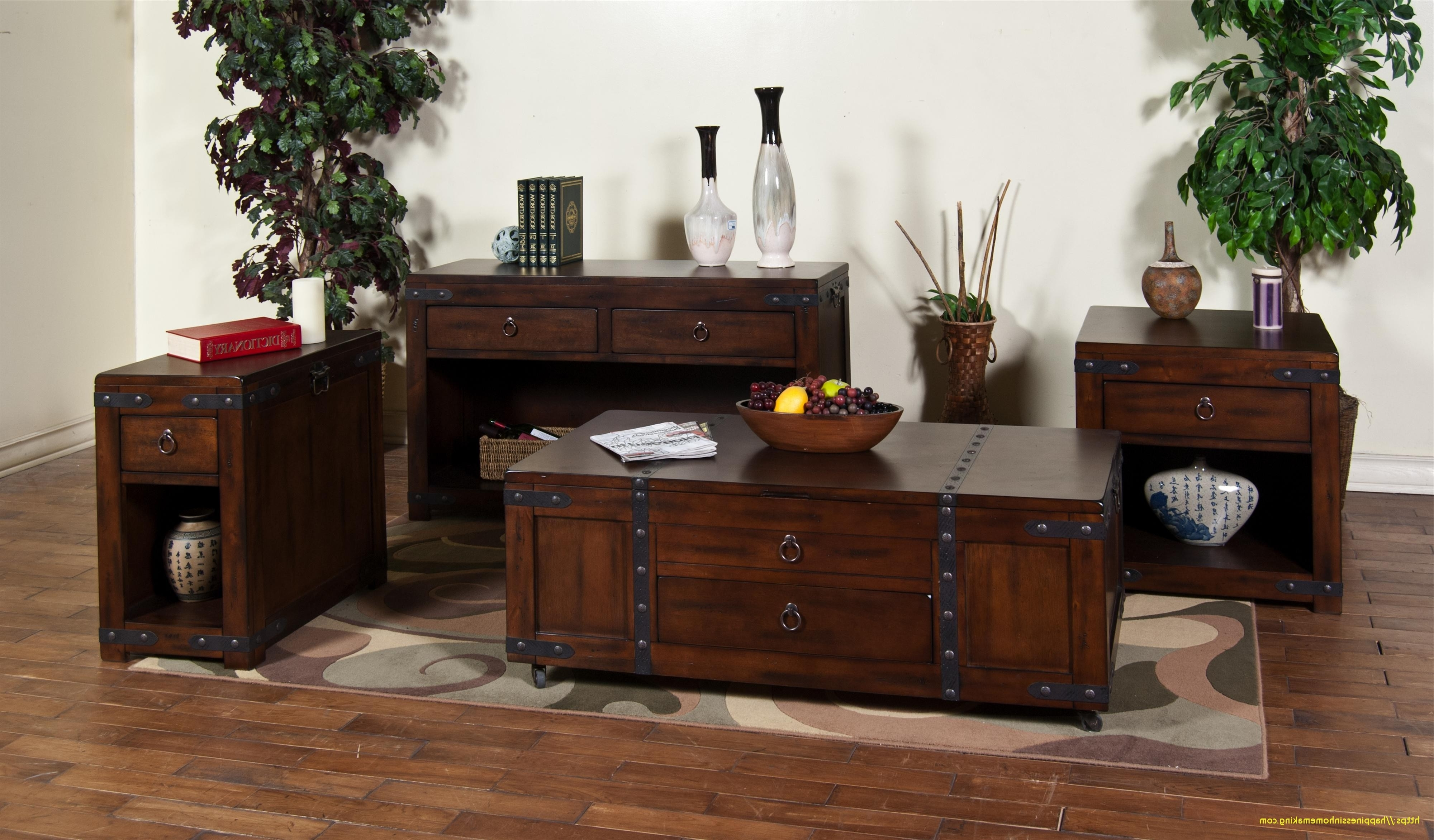 Widely Used Santa Fe Coffee Tables With Sunny Designs Coffee Table Sante Fe Lift Top Dark Chocolate (View 3 of 20)