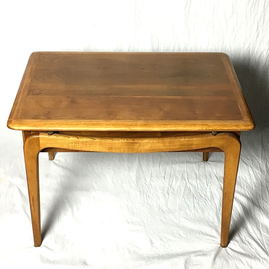 Widely Used Vintage Wood Coffee Tables Inside Vintage Coffee Table From Lane, 1960s For Sale At Pamono (View 14 of 20)