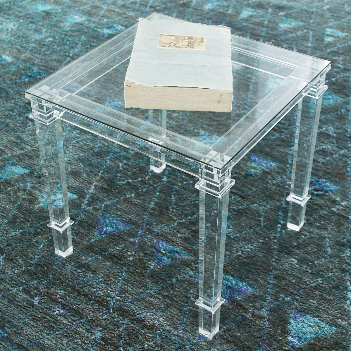 Wisteria With Most Recent Stately Acrylic Coffee Tables (View 4 of 20)
