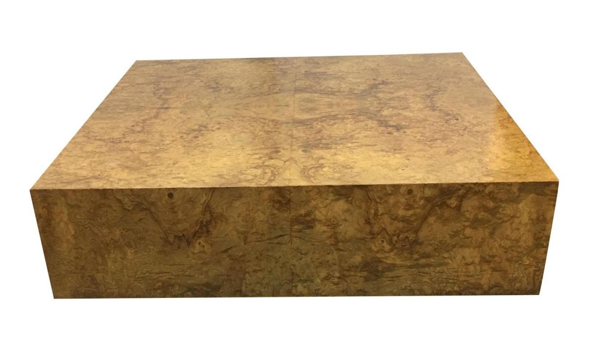Wooden Thing With Well Known Oslo Burl Wood Veneer Coffee Tables (View 12 of 20)