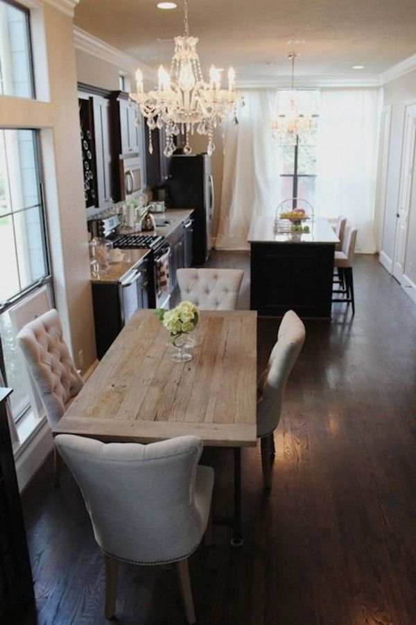 10 Narrow Dining Tables For A Small Dining Room (View 17 of 20)