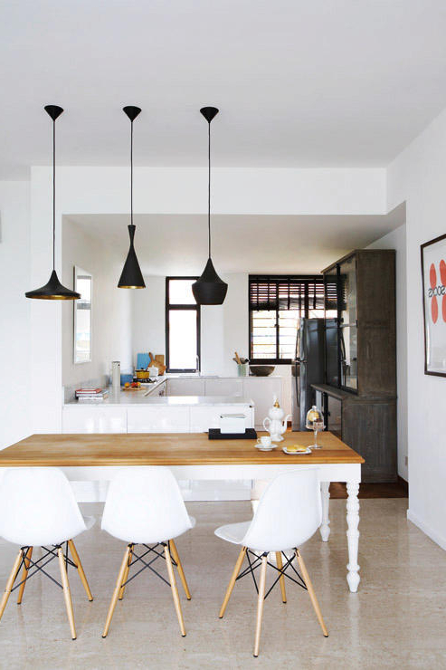 10 Perfect Pairings – Pendant Lamps And Dining Tables (View 1 of 20)