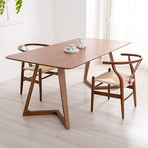 [%100% Pure Solid Wood Dining Tables And Chairs Walnut Color Throughout Well Liked Danish Style Dining Tables|danish Style Dining Tables Intended For Well Known 100% Pure Solid Wood Dining Tables And Chairs Walnut Color|most Recently Released Danish Style Dining Tables Pertaining To 100% Pure Solid Wood Dining Tables And Chairs Walnut Color|trendy 100% Pure Solid Wood Dining Tables And Chairs Walnut Color Pertaining To Danish Style Dining Tables%] (View 2 of 20)