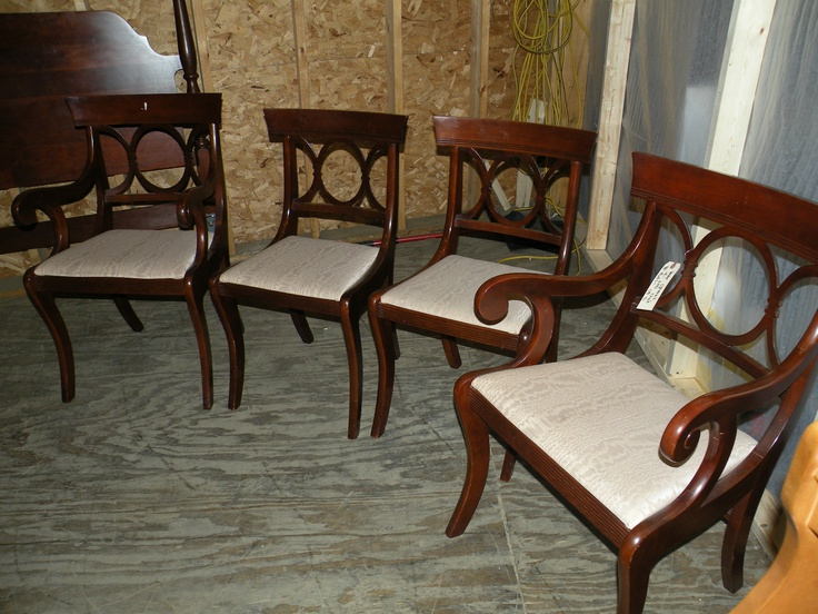 12. Scandinavian Dining Set 6 Chairs Drop Leaf Table Ebay 6 Chair Throughout Preferred Dining Chairs Ebay (Gallery 11 of 20)