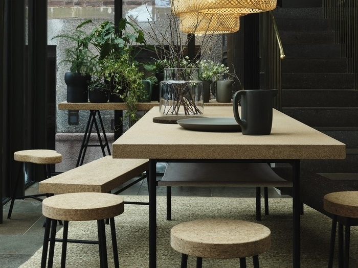 13. 0 Ikea Sinnerlig Collection Dining Table Desk And With Most Recent Cork Dining Tables (Gallery 2 of 20)