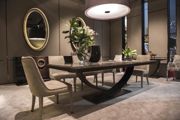 13 Modern Dining Tables From Top Luxury Furniture Brands (Gallery 19 of 20)