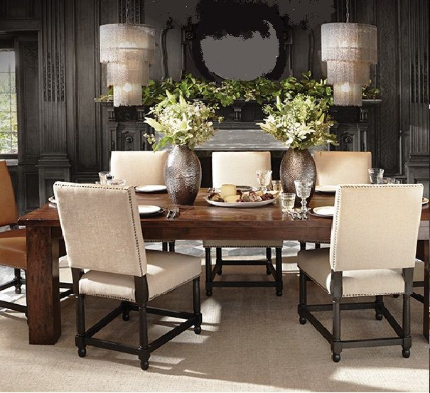 15. Arhaus Rio Table U0026 Vail Chairs Dining Room Pertaining To Famous Rio Dining Tables (Gallery 17 of 20)