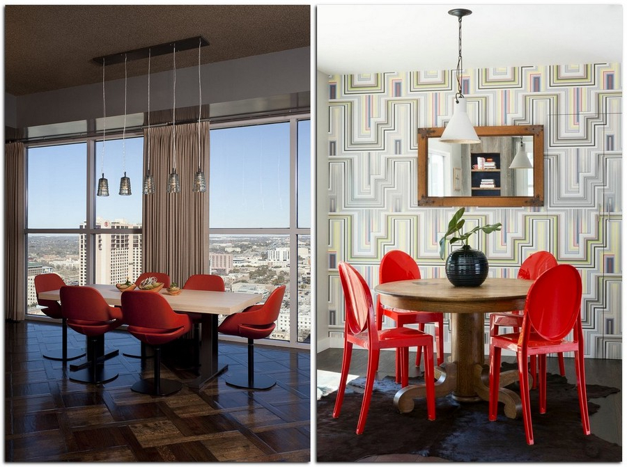 15 Reasons To Have Red Dining Chairs (View 4 of 20)
