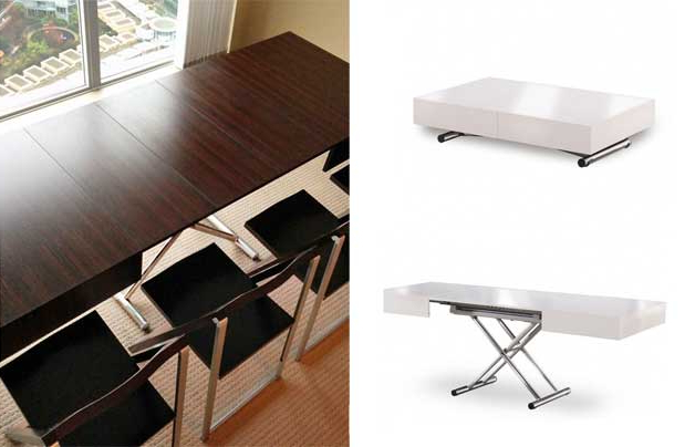 17 Genious & Affordable Ideas (Must See!) For Dining Tables With Fold Away Chairs (View 1 of 20)