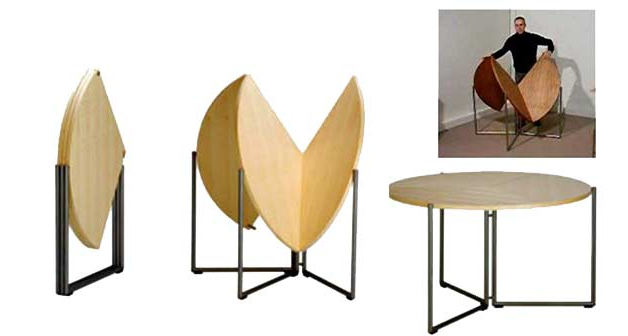 17 Genious & Affordable Ideas (Must See!) For Latest Foldaway Dining Tables (Gallery 9 of 20)