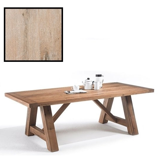 180Cm Dining Tables Within Well Known Bristol 180Cm Dining Table In Solid White Oak With 4 Legs (View 1 of 20)