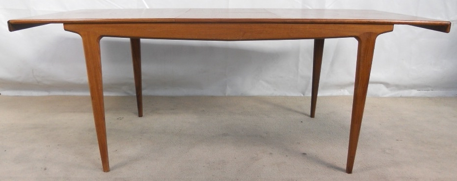 1960 S Retro Teak Extending Dining Table To Seat Ten – Sold Within Most Recent Retro Extending Dining Tables (Gallery 12 of 20)
