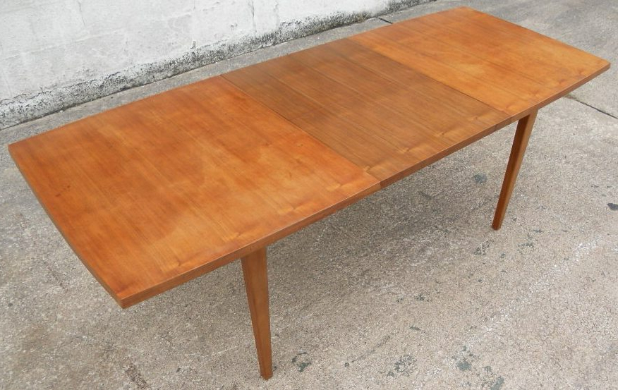 1960 S Retro Teak Wood Extending Dining Table To Seat Eight – Sold With Well Liked Retro Extending Dining Tables (Gallery 4 of 20)