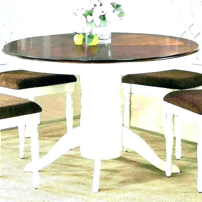 2 Pedestal Dining Table Person Kitchen Small Tables For Two Tone And Regarding Most Recently Released Dining Tables For Two (View 1 of 20)