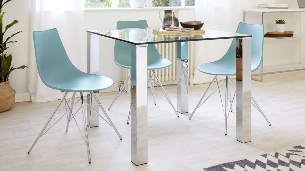 2 To 4 Seater Small Glass Dining Set (View 1 of 20)