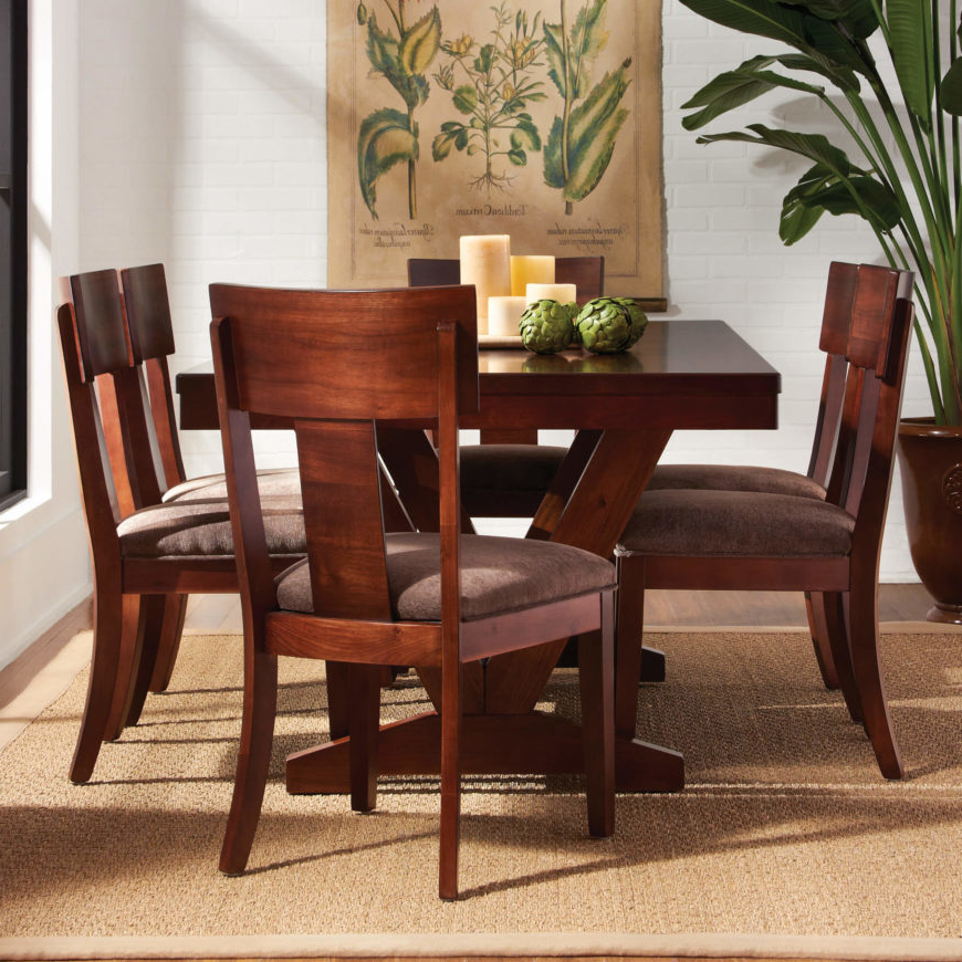 20 Wood Rectangle Dining Tables That Seats 6 Under $500 Intended For Current Rectangular Dining Tables Sets (View 19 of 20)