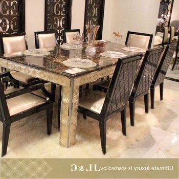 2017 10 Seater Dining Tables And Chairs Inside 2014 10 Seater Dining Table For Dining With Marble Or Wooden Top (View 7 of 20)