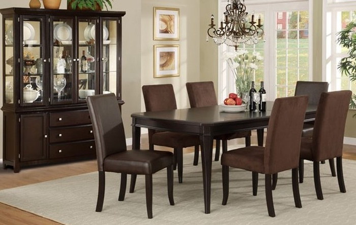 2017 12. Modest Dark Wood Dining Room Sets View Fresh In Landscape Plans In Dark Wood Dining Room Furniture (Gallery 19 of 20)