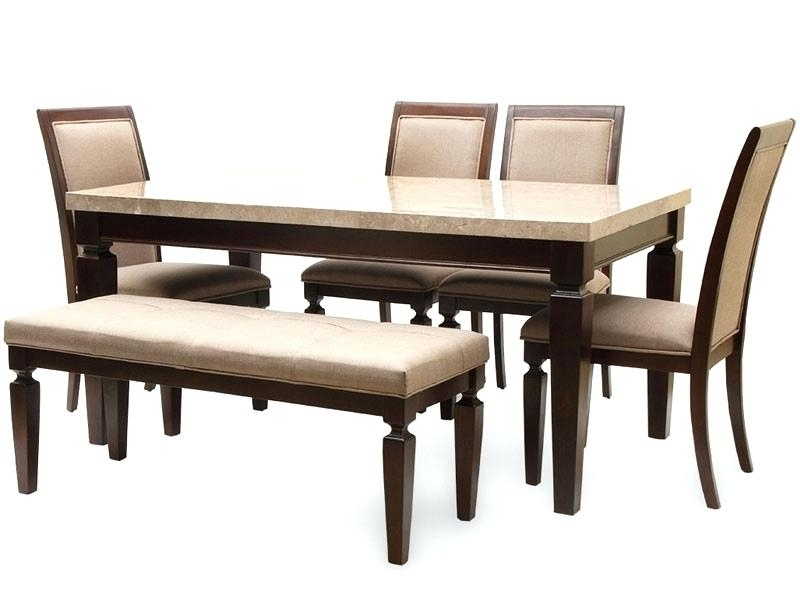 2017 6 Seater Dining Table Diner Set With Bench Oval Dimensions Home Within 6 Seat Dining Table Sets (View 8 of 20)
