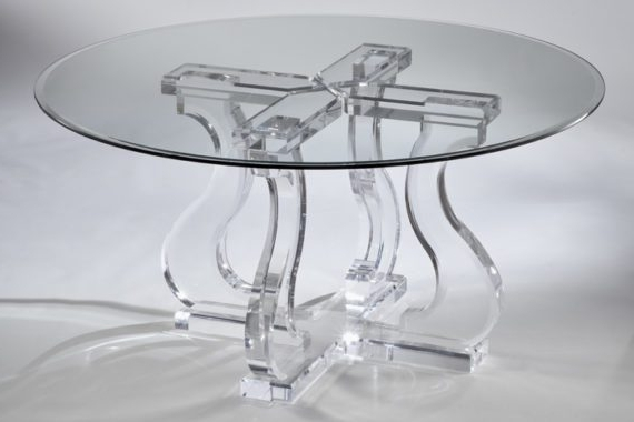 2017 Acrylic Dining Sets (View 10 of 20)