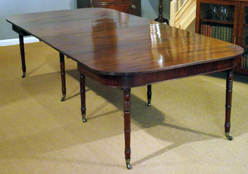 2017 Antique Extending Table / Georgian Mahogany Dining Table : Antiques Throughout Mahogany Extending Dining Tables And Chairs (Gallery 2 of 20)