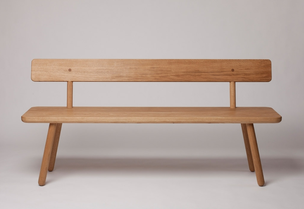 2017 Bench With Back For Dining Tables Regarding Bench One Back Designedanother Country (View 10 of 20)
