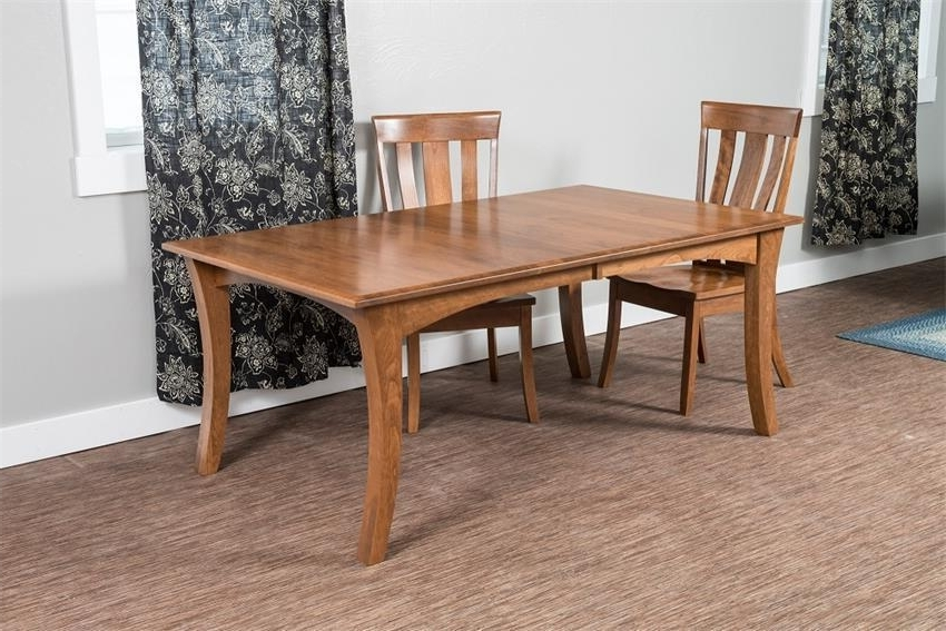 2017 Chandler Extension Dining Tables Intended For Chandler Dining Table From Dutchcrafters Amish Furniture (View 1 of 20)