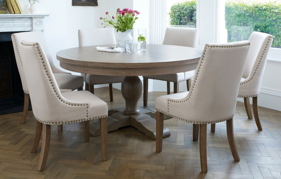 2017 Classic Designer Dining Set – 6 Seats – Home Furniture – Out & Out Regarding Round 6 Seater Dining Tables (Gallery 1 of 20)