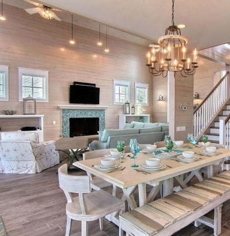 2017 Coastal Dining Tables Regarding Coastal Dining Room Ideas – Www (View 1 of 20)