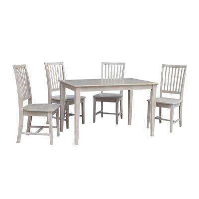2017 Craftsman 5 Piece Round Dining Sets With Uph Side Chairs With Regard To Gray – Dining Room Sets – Kitchen & Dining Room Furniture – The Home (View 1 of 20)