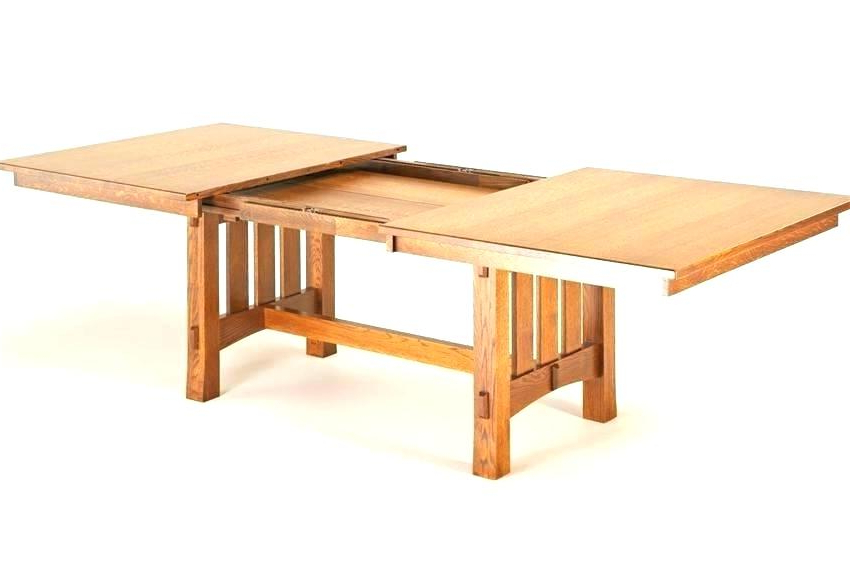 2017 Craftsman Dining Table Craftsman Style Dining Room Table Antique Pertaining To Craftsman Round Dining Tables (View 1 of 20)