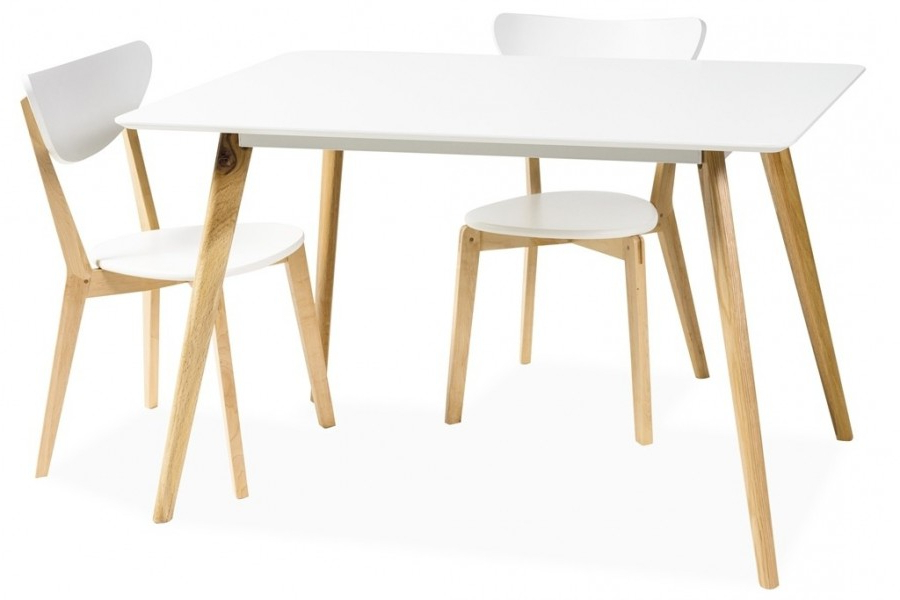 2017 Danish Style Dining Tables Throughout Milano Dining Table Scandinavian Style – Mr Gregor Ltd (View 17 of 20)