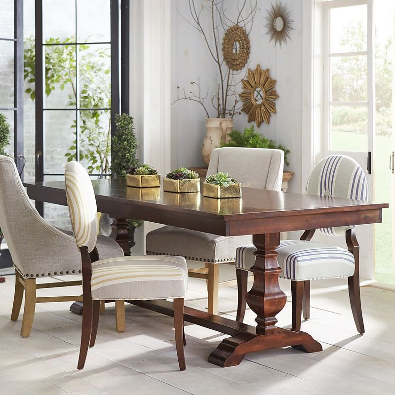 2017 Dawson Glass Dining Table – Dining Tables Ideas With Dawson Dining Tables (View 2 of 20)