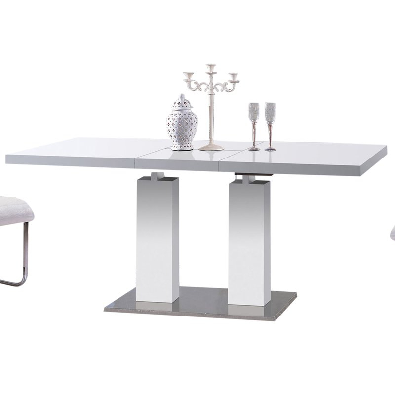 2017 Delfina 7 Piece Dining Sets Intended For At Home Usa Delfina Expandable Dining Table & Reviews (View 11 of 20)