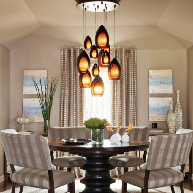 2017 Dining Room Lighting – Chandeliers, Wall Lights & Lamps At Lumens Throughout Lights For Dining Tables (Gallery 6 of 20)