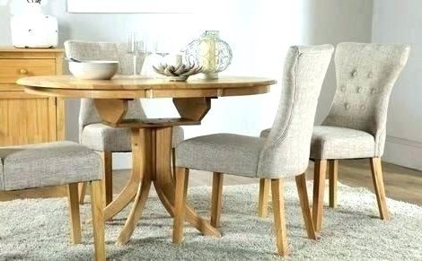 2017 Dining Table 4 Chairs Set Dining Table 4 Chairs Sale Extending With Circular Extending Dining Tables And Chairs (View 15 of 20)