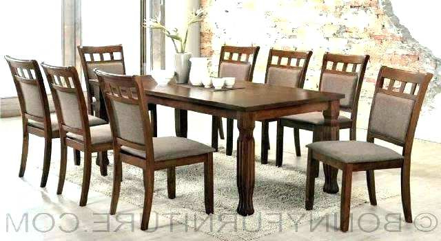 2017 Dining Table For 8 Modern Dining Room Sets For 8 Dining Table And 8 In Dining Tables 8 Chairs Set (View 19 of 20)