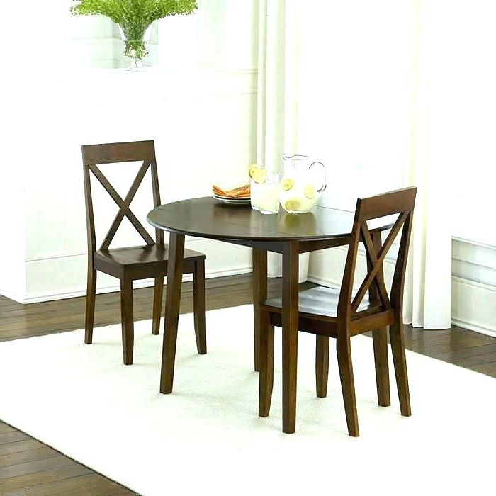 2017 Dining Tables And Chairs For Two Pertaining To Dining Table For Small Kitchen – Dominiquelejeune (View 18 of 20)