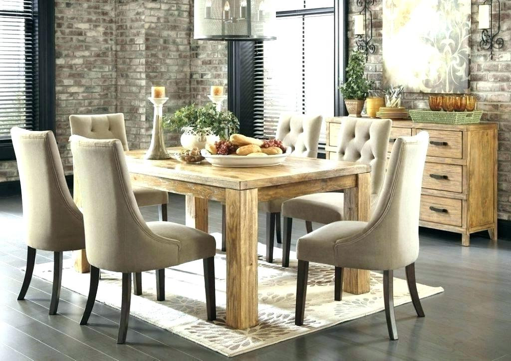 2017 Fabric Dining Room Chairs Intended For Padded Dining Room Chairs – Adproagency (Gallery 3 of 20)