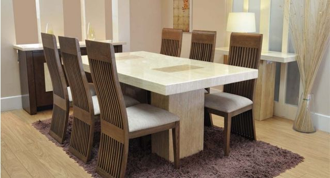 2017 Grenoble Dining Table And 6 Chairs @scs Sofas #scssofas #table Inside Scs Dining Tables (View 2 of 20)